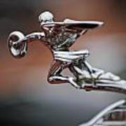 1931 Packard Deluxe Eight Roadster Hood Ornament Poster