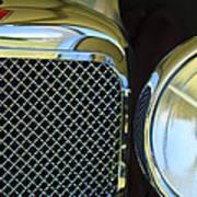 1932 Alvis-6 Speed 20 Sa Grille Emblem Poster