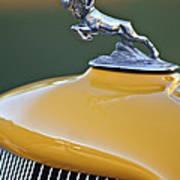 1933 Dodge Ram Hood Ornament Poster