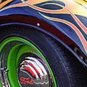 1933 Ford Wheel Poster