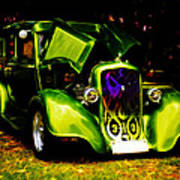 1933 Plymouth Hot Rod Poster