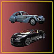 1936 Bugatti 2010 Bugatti Poster