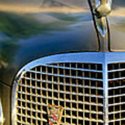 1937 Cadillac Hood Ornament And Grille Poster