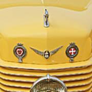 1937 Cord 812 Sc Convertible Phaeton Sedan Grille Emblems Poster