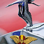 1937 Hispano-suiza Hood Ornament Poster