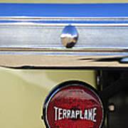 1937 Hudson Terraplane Pickup Truck Taillight Poster