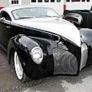 1939 Lincoln Zephyr  7680 Poster