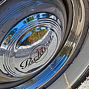 1940 Packard Hubcap Poster