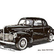 Studebaker Business Coupe Poster