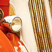 1940's Seagrave Fire Engine Poster