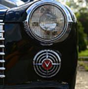 1941 Cadillac Headlight Poster