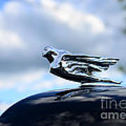 1941 Cadillac Hood Ornament - The Goddess Poster