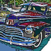 1946 Chevrolet Poster by Samuel Sheats