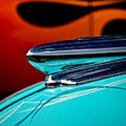 1948 Chevy Hood Ornament Poster