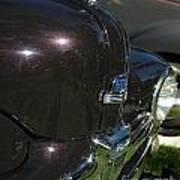 1948 Ford Super Deluxe Hood Emblem Poster