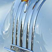 1948 Pontiac Hood Ornament 3 Poster