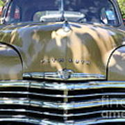 1949 Plymouth Delux Sedan . 5d16205 Poster by Wingsdomain Art and Photography