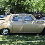 1949 Plymouth Delux Sedan . 5d16208 Poster by Wingsdomain Art and Photography