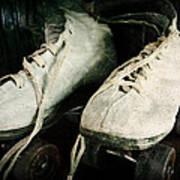 1950's Roller Skates Poster by Michelle Calkins