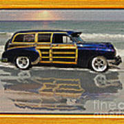 1951 Chevy Sedan Delivery Poster