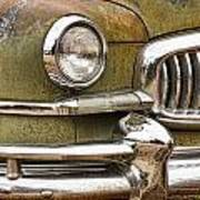 1951 Nash Ambassador Front End Closeup Poster