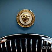 1952 Jaguar Hood Ornament Poster by Sebastian Musial