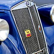1952 Lancia Ardea 4th Series Berlina Grille Emblems Poster