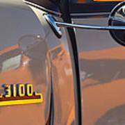 1953 Chevrolet 3100 Pickup Emblem Poster