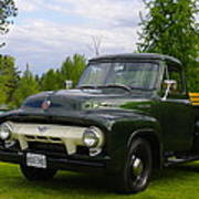 1953 Ford F-100 Poster