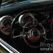 1953 Mercury Monterey Dash Poster