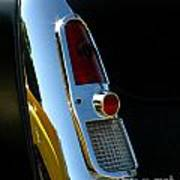 1953 Mercury Monterey Taillight Poster
