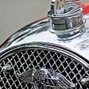 1953 Morgan Plus 4 Le Mans Tt Special Hood Ornament        Poster