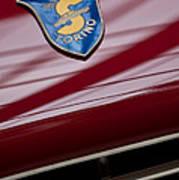 1953 Siata 208s Spyder Emblem Poster