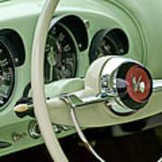 1954 Kaiser Darrin Steering Wheel Poster