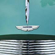 1955 Aston Martin Grille Emblem Poster