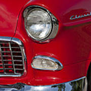 1955 Chevrolet 210 Front End Poster