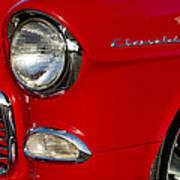 1955 Chevrolet 210 Headlight Poster