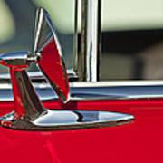 1955 Chevrolet 210 Rear View Mirror Poster