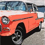 1955 Chevy Poster by Steve McKinzie