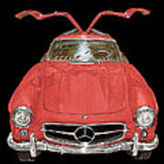 300 S L Gull Wing  Poster