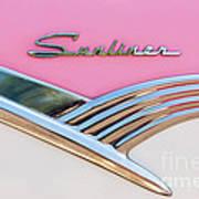 1956 Ford Fairlane Sunliner Poster
