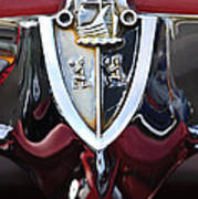 1956 Plymouth Emblem Poster