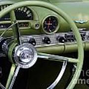 1956 Thunderbird Interior Poster