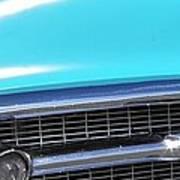 1957 Chevrolet Bel Air Classic Car Panoramic Fine Art Photo  Poster
