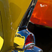1957 Chevrolet Taillight Poster