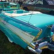 1957 Chevy Convertable Poster