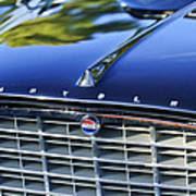 1957 Chrysler 300c Grille Emblem Poster