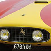 1957 Ferrari 250 Gt Lwb Scaglietti Berlinetta Poster