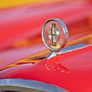 1958 Edsel Roundup Hood Ornament Poster