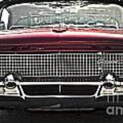 1958 Lincoln Continental Poster